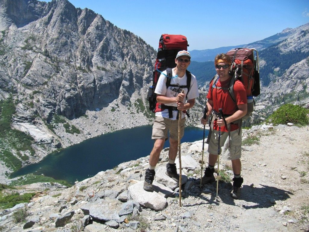 Ben and Tony on the High Sierra Trail